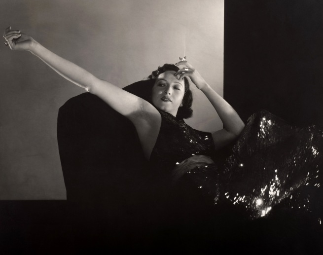 "Edward Steichen. 'Mary Duncan in ""Lilly,""' 1931"