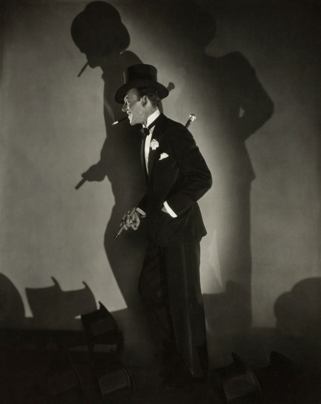 Edward Steichen. 'Fred Astaire in Funny Face' 1927
