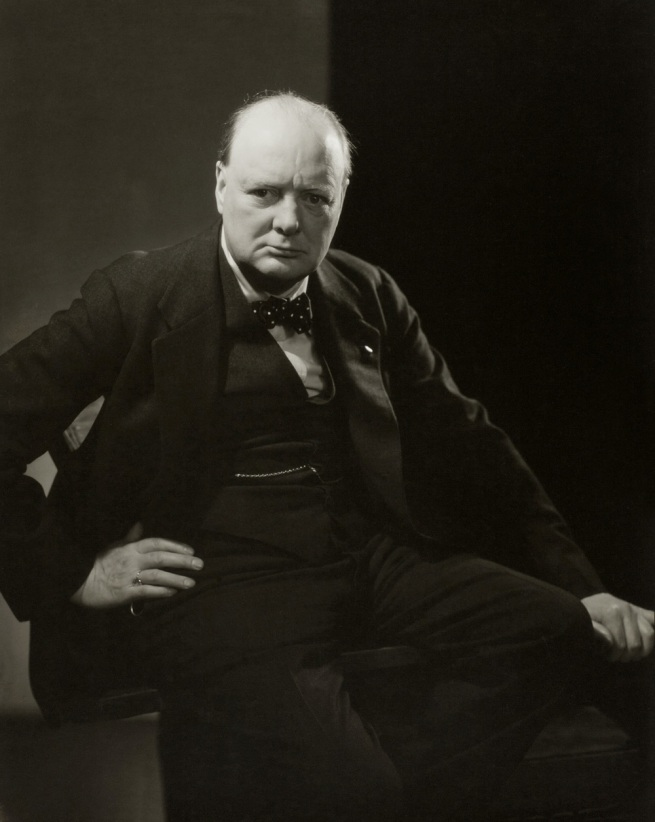 Edward Steichen. 'Winston Churchill' 1932