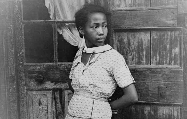 Walker Evans. 'Girl In French Quarter' New Orleans, February - March 1935