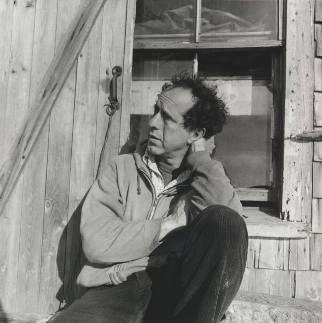 Walker Evans. 'Robert Frank' Nova Scotia, 1969-71