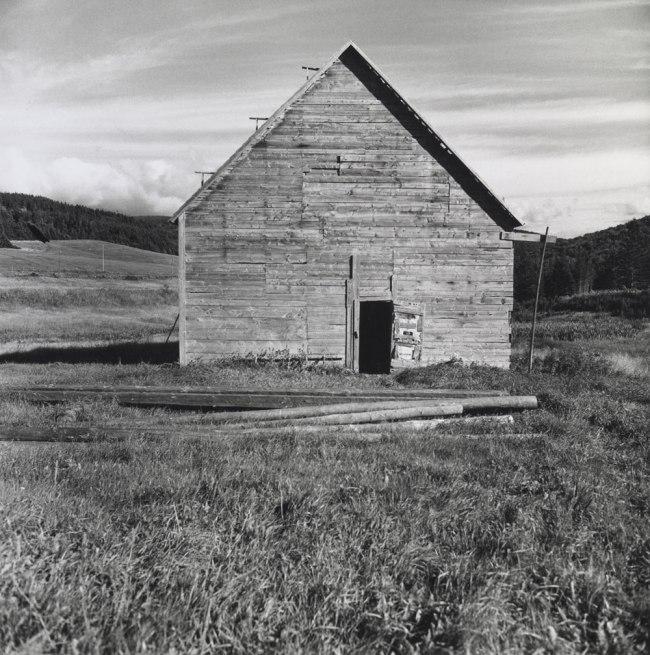 Walker Evans. 'Barn' Nova Scotia, 1969-71