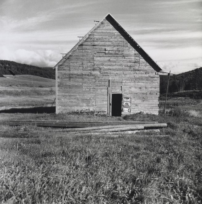 Walker Evans. 'Barn' Nova Scotia, 1969-71