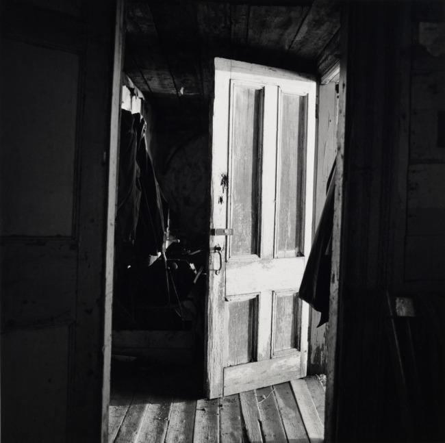 Walker Evans. 'Interior View of Robert Frank's House' Nova Scotia, 1969-71