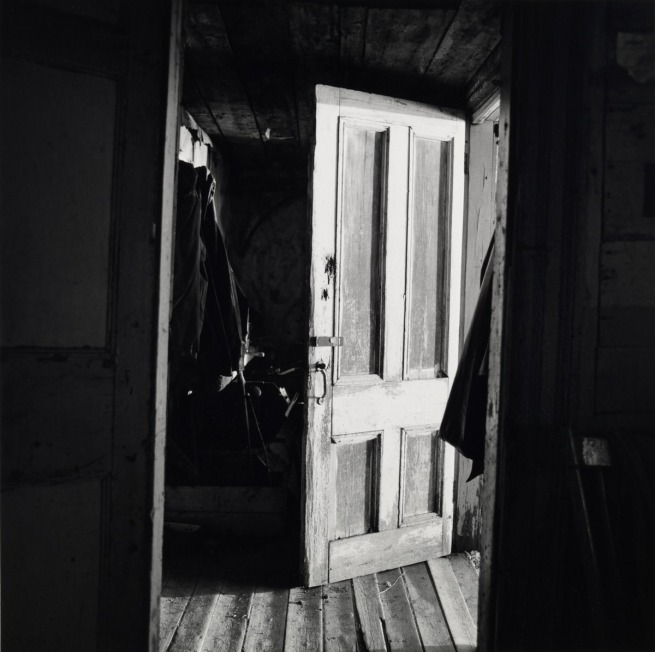 Walker Evans. 'Interior View of Robert Frank's House' Nova Scotia, 1969-71