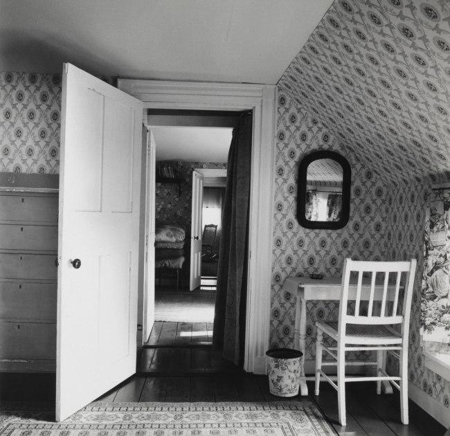 Walker Evans. 'Interior View of Heliker/Lahotan House' Walpole, Maine, 1962