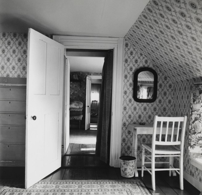 Walker Evans. 'Interior View of Heliker/Lahotan House' Walpole, Maine, 1962