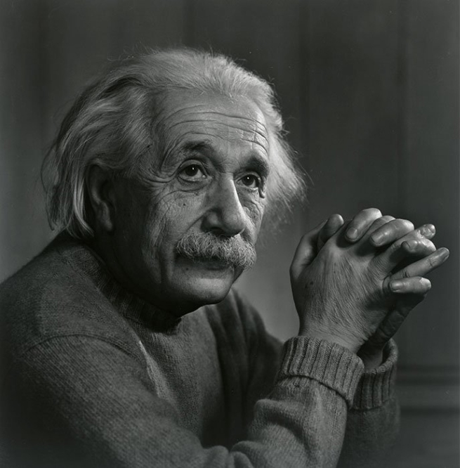 Yousuf Karsh. 'Albert Einstein' 1948