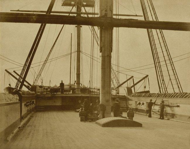 "Linnaeus Tripe. 'Quarterdeck of HMS ""Impregnable"",' 1852-1854"