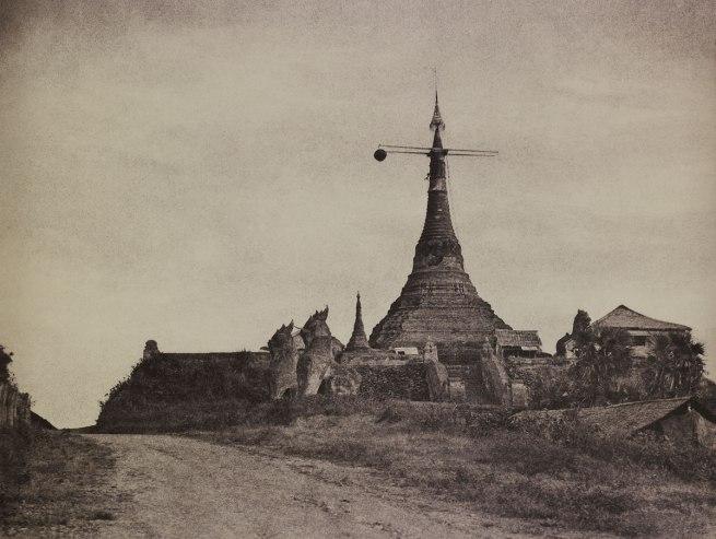 Linnaeus Tripe. 'Rangoon: Signal Pagoda, November 1855' 1855