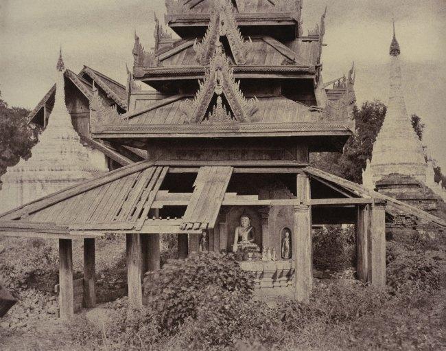 Linnaeus Tripe. 'Tsagain Myo: Ruined Tazoung, August 29-30, 1855' 1855