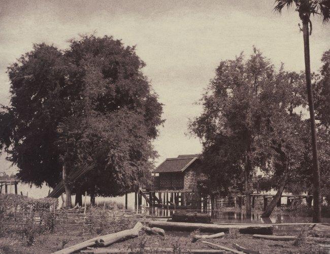 Linnaeus Tripe. 'Tsagain Myo: View near the Irrawadi River, August 29-30, 1855' 1855