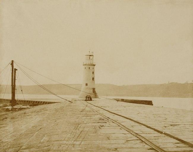 Linnaeus Tripe. 'Gun Wharf - Devonport' 1852-1854