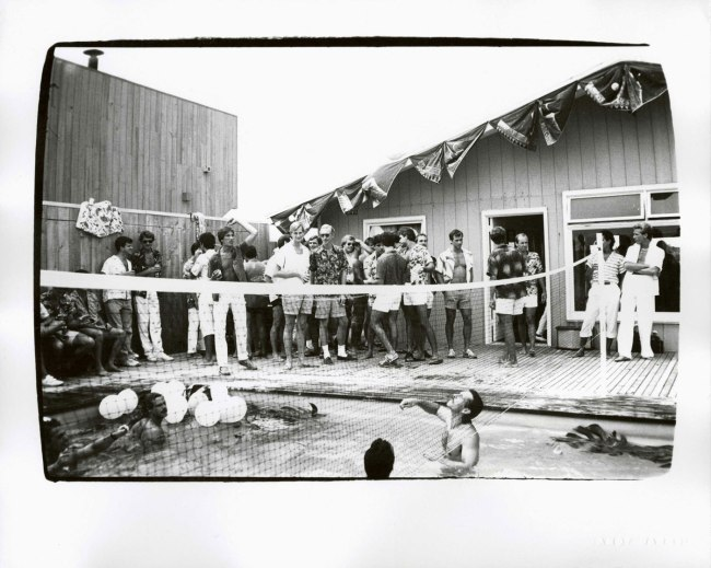 Andy Warhol. 'Fire Island Party' 1982