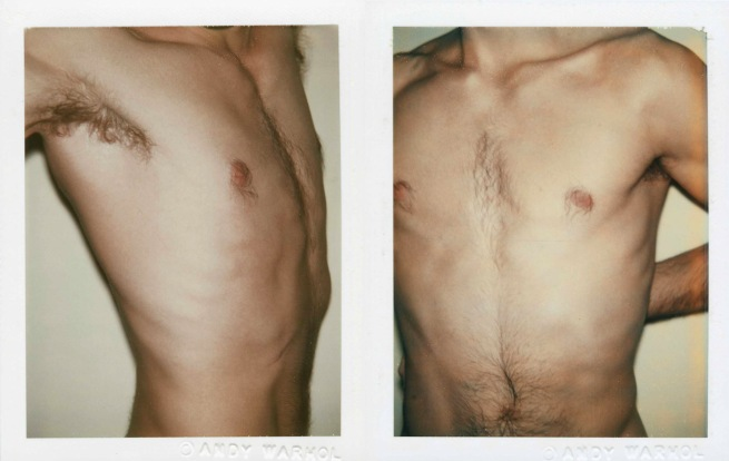 Andy Warhol. 'Nude Male Model' 1976