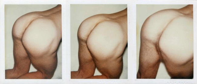Andy Warhol. 'Nude Male Model' 1976
