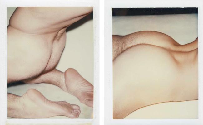 Andy Warhol. 'Nude Male Model' 1977