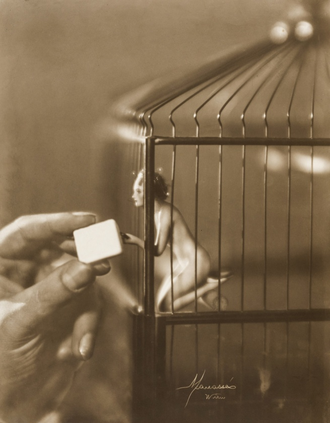 Atelier Manassé. 'My Little Bird' c. 1928
