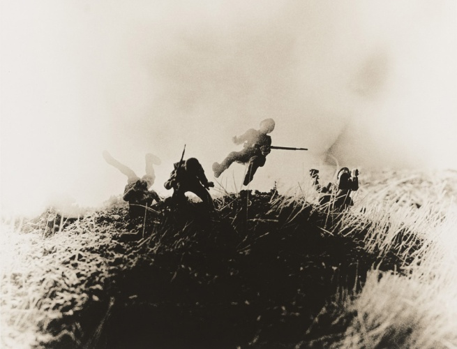 David Levinthal and Garry Trudeau. 'Untitled', from the series 'Hitler Moves East' 1977