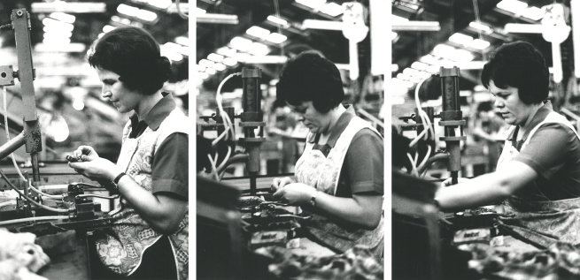 Helen Grace. 'Women at work, Newcastle' 1976