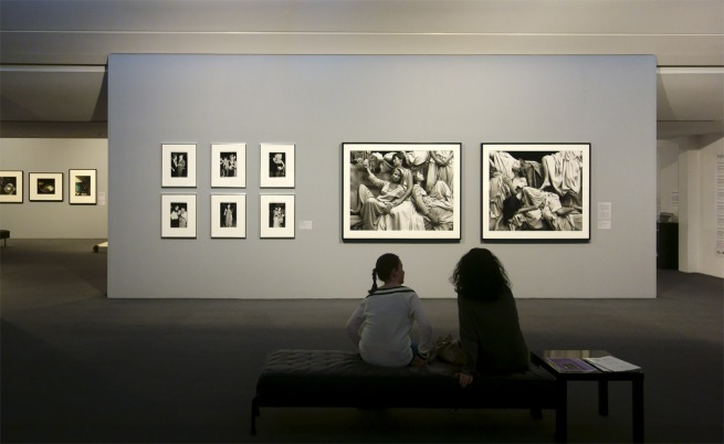 Installation view of 'Photography Meets Feminism' at the Monash Gallery of Art