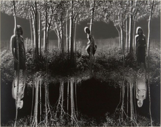 Jerry Uelsmann (American, born 1934) 'Small Woods where I met Myself (Final Version)' 1967