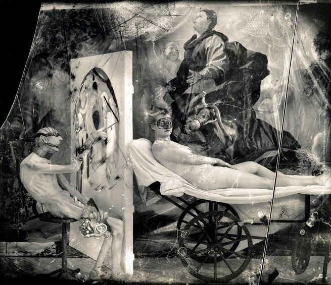 Joel-Peter Witkin. 'Poussin in Hell' 1999