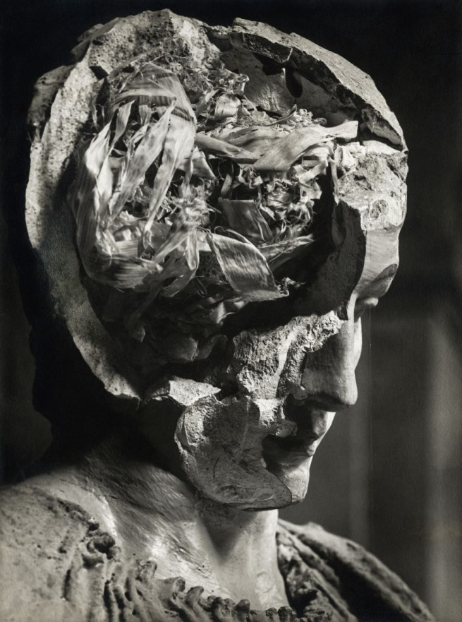 Josef Sudek. 'Plaster Head' c. 1947
