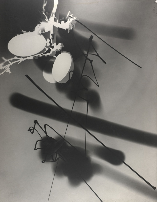 Gyorgy Kepes (U.S.A., b. Hungary 1906-2001) 'Light Graphic, Photogenic' 1945