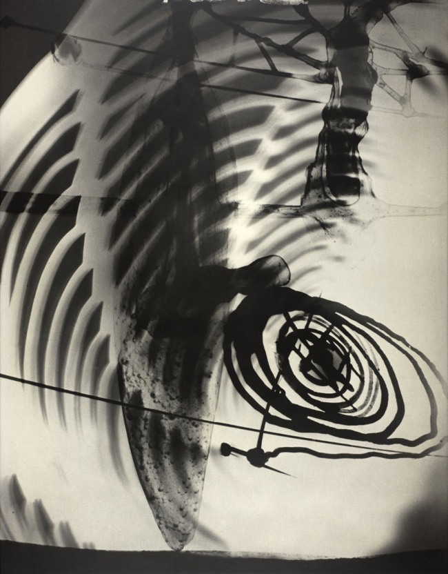 Gyorgy Kepes (U.S.A., b. Hungary 1906-2001) 'Photogenic Painting, Photogenic' 1942