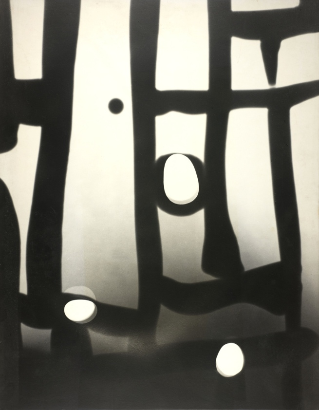 Gyorgy Kepes (U.S.A., b. Hungary 1906-2001) 'Gate, Photogenic' 1948