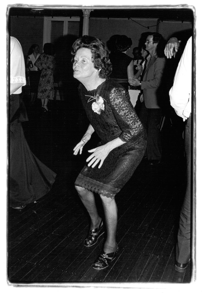 Ruth Maddison. 'Vehicle Builders Union Ball, Collingwood Town Hall, Melbourne' 1979