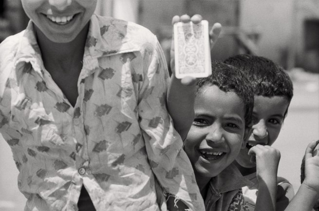 Jean Mohr. 'Palestinian refugees camp, Gaza, 1979'