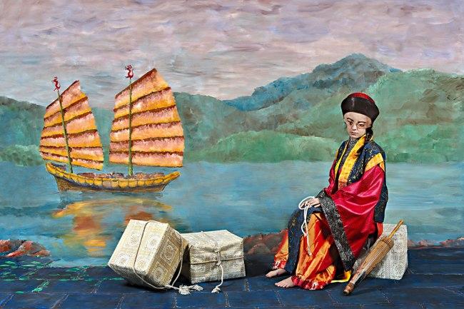 Polixeni Papapetrou. 'The Merchant' 2014