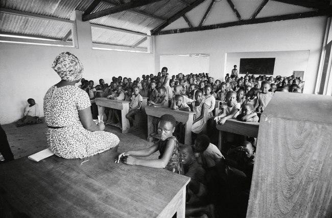 Jean Mohr. 'School, Kyangwali camp, Uganda, 1968'