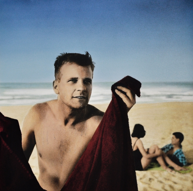 Robyn Stacey. 'Untitled (Geoff in Bondi)' 1981
