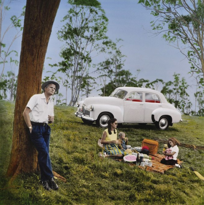 Robyn Stacey. 'Untitled (Picnic)' 1981