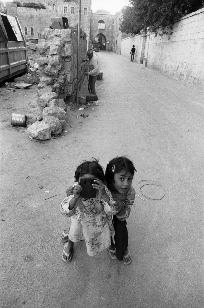 Jean Mohr. 'The photographed photographer, Jerusalem, 1979'