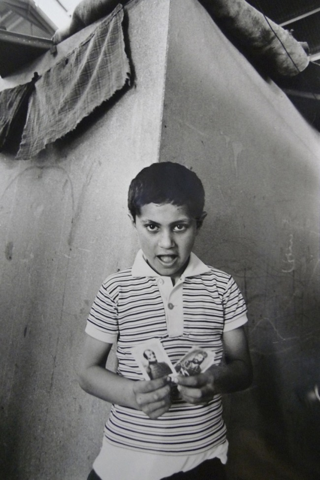Jean Mohr. 'Young Greek refugee, Cyprus, 1976'