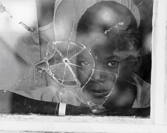 Jean Mohr. 'Young Mozambican refugee, Nyimba camp, Zambia, 1968'