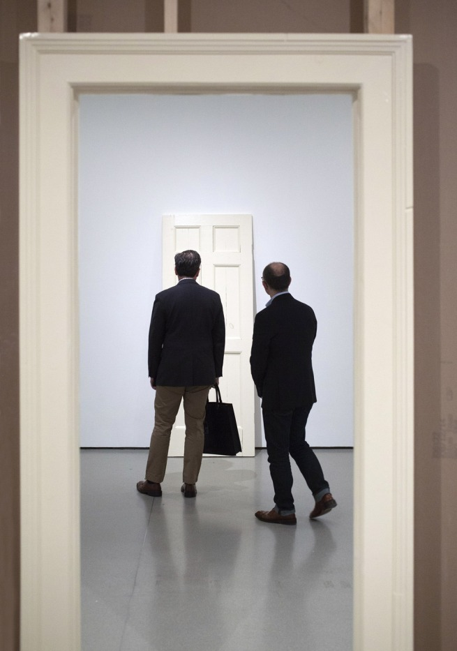 Installation view of Robert Gober: The Heart Is Not a Metaphor, The Museum of Modern Art, October 4, 2014–January 18, 2015