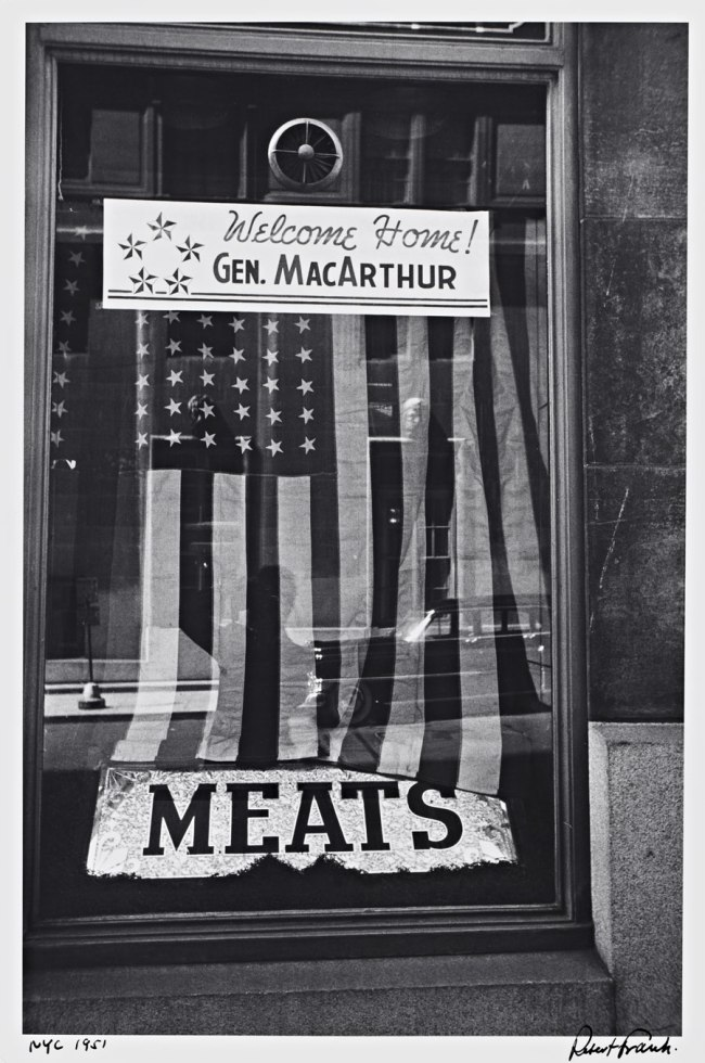 Robert Frank. 'New York' City 1951