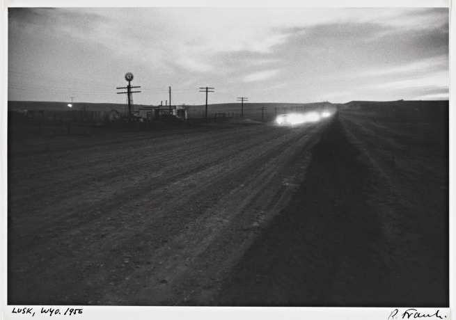 Robert Frank. 'Lusk, Wyoming' 1956