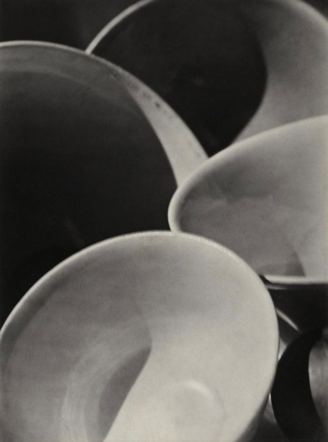 Paul Strand. 'Abstraction Bowls, Twin Lakes, Connecticut' 1916