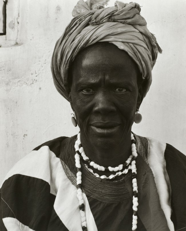 Paul Strand. 'Asenah Wara, Leader of the Women's Party, Wa, Ghana' 1964