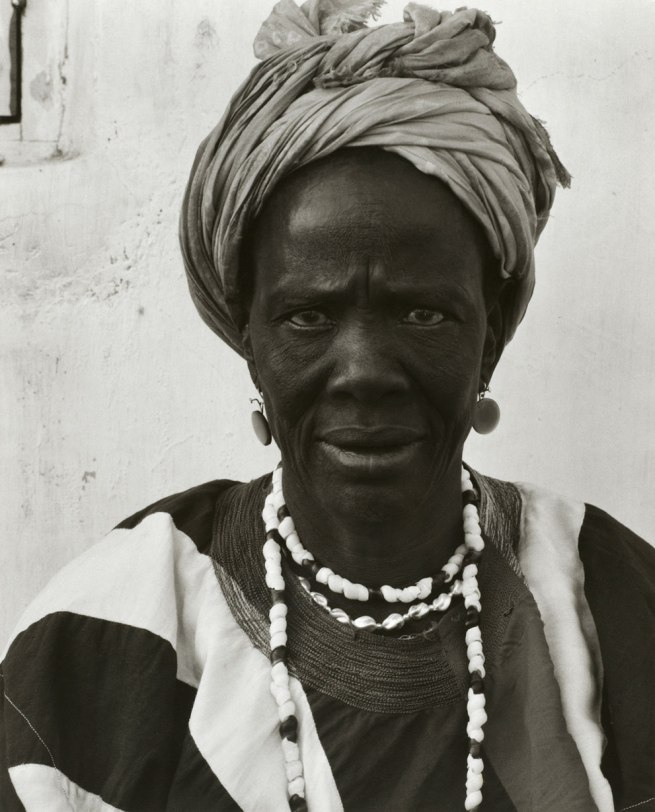 Paul Strand. 'Asenah Wara, Leader of the Women's Party, Wa, Ghana' 1964
