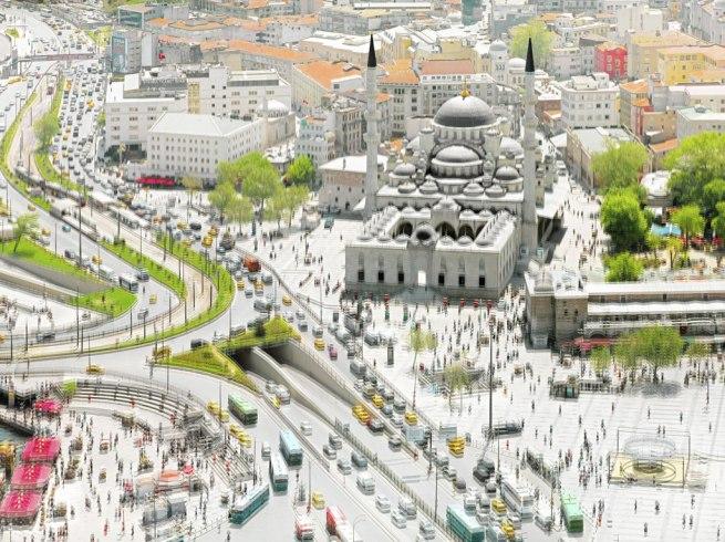 Olivo Barbieri. 'site specific_ISTANBUL #4' 2011