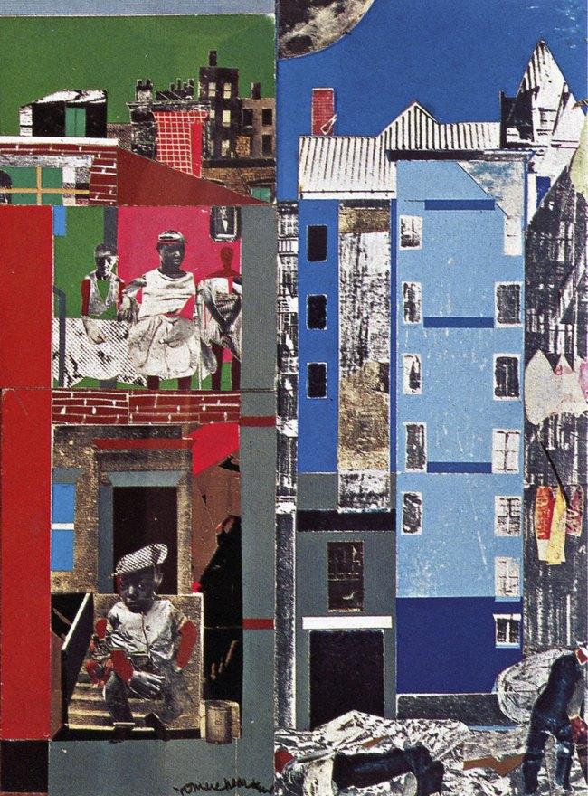 Romare Bearden. 'The Block II' (detail) 1972