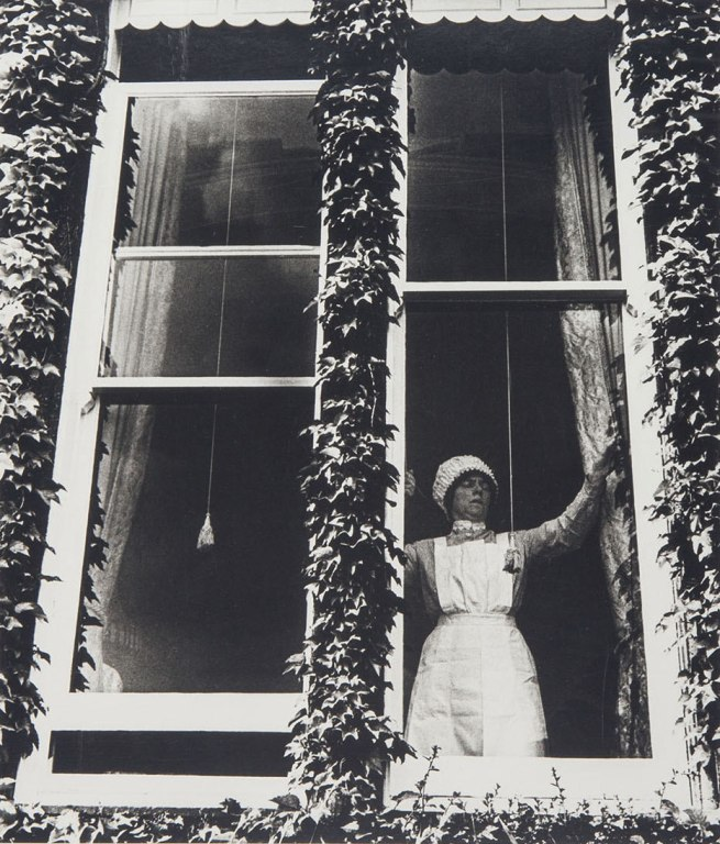 Bill Brandt. 'Parlourmaid at the Window in Kensington' 1935