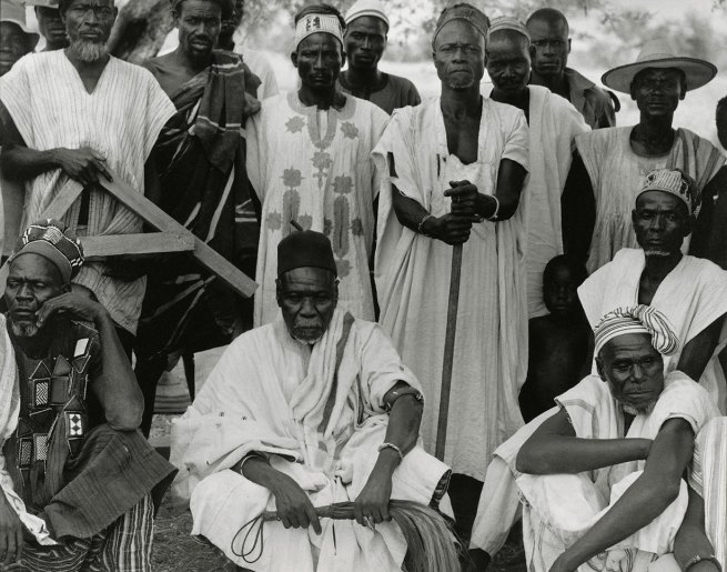 Paul Strand. 'Chief and Elders, Nayagnia, Ghana' 1963-64